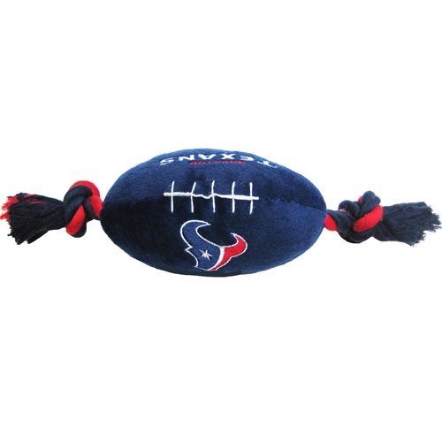 Houston Texans NFL plush football dog toy