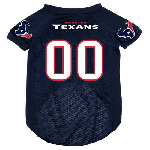 Houston Texans dog jersey alternate style
