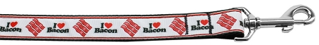 I Love Bacon Dog Leash