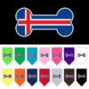 Iceland flag bone bandana