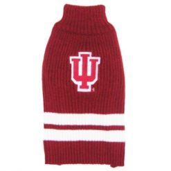 Indiana Hoosiers Turtleneck Dog Sweater