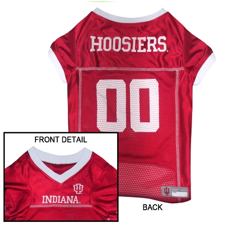 Indiana Hoosiers dog jersey