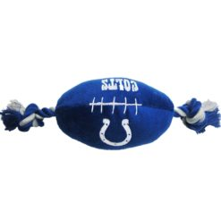 Indianapolis Colts NFL plush football dog toy