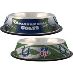 Indianapolis Colts NFL stainless dog bowl