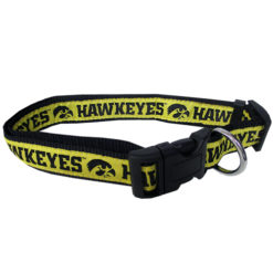 Iowa Hawkeyes NCAA nylon dog collar