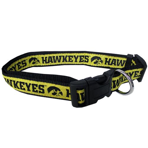 Iowa Hawkeyes NCAA nylon dog collar