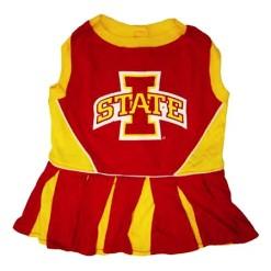 Iowa State Cyclones cheerleader dog dress