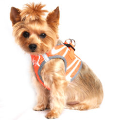 Iridescent Orange American River Ultra Choke Free Harness side view
