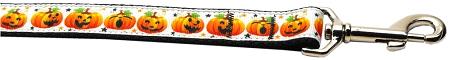 Jack-o-Lantern Facial Expressions dog leash pumpkin for halloween