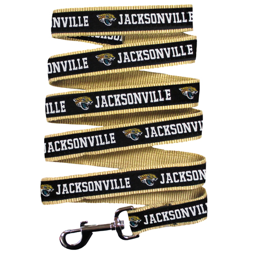 Jacksonville Jaguars NFL Nylon Dog Leash