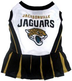 Jacksonville Jaguars NFL dog cheerleader dress