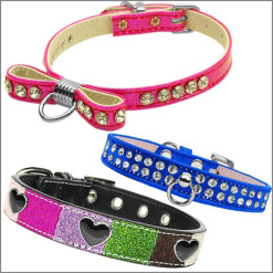 Jeweled Dog Collars