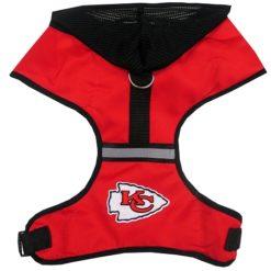 Kansas City Chiefs Mesh Dog Harness
