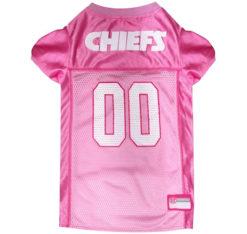 Kansas City Chiefs Pink Dog Jersey