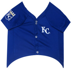 Kansas City Royals dog jersey front-2