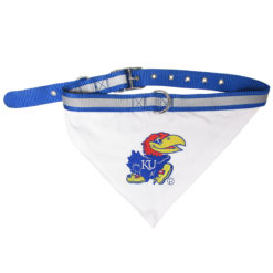 Kansas Jayhawks Dog Bandana & Collar
