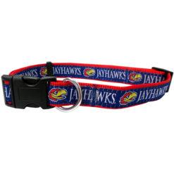 Kansas Jayhawks NCAA Nylon Dog Collar