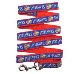 Kansas Jayhawks NCAA Nylon Dog Leash