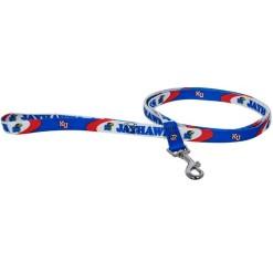 Kansas Jayhawks dog leash