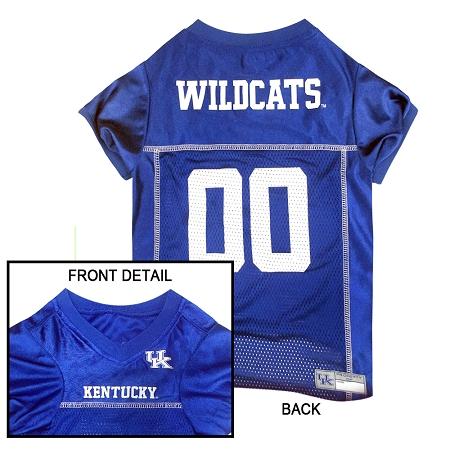 Kentucky Wildcats dog jersey