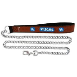 Kentucky Wildcats leather dog leash 02