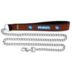 Kentucky Wildcats leather dog leash 02