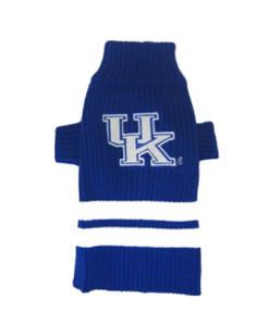 Kentucky Wildcats turtleneck dog sweater photo