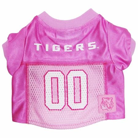 LSU Tigers Pink dog jersey