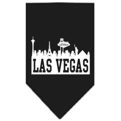 Las Vegas Skyline dog bandana