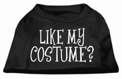Like My Costume t-shirt sleeveless dog black