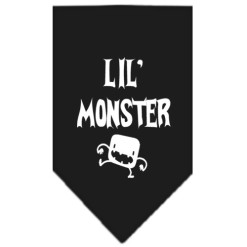 Lil Monster dog bandana