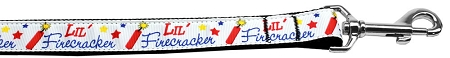 Little Firecracker Fourth of July Dog Leash