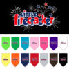 Little Firecracker stars dog bandana