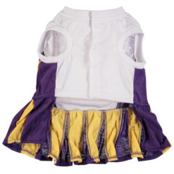 Los Angeles Lakers Dog Cheerleader Dress back
