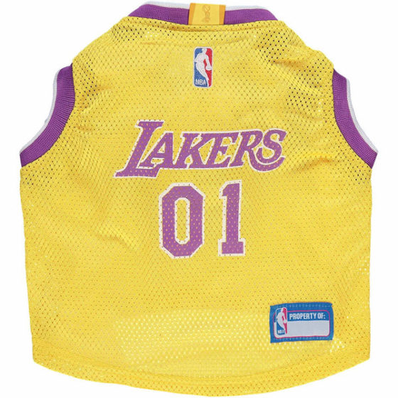 Los Angeles Lakers NBA Dog Jersey front