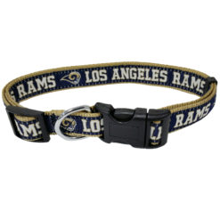 Los Angeles Rams Nylon Dog Collar