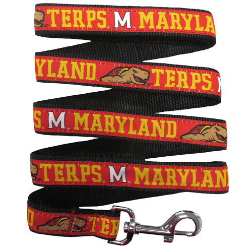 Maryland Terps Nylon Dog Leash