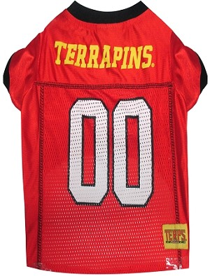 Maryland Terrapins dog jersey