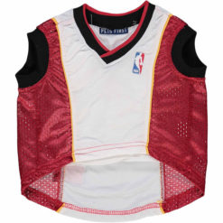Miami Heat NBA Dog Jersey front