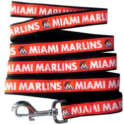 Miami Marlins MLB nylon dog leash