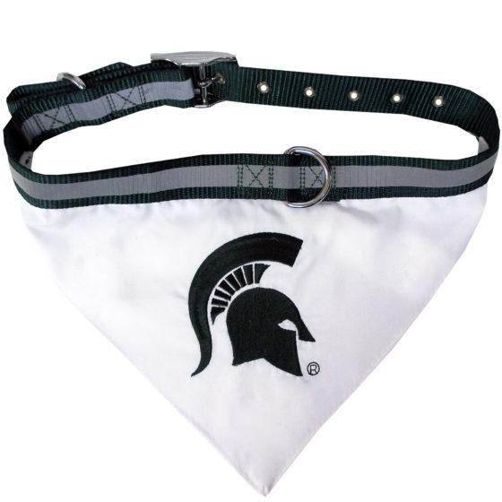 Michigan State Spartans Dog Bandana and Collar