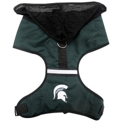 Michigan State Spartans NCAA mesh dog harness