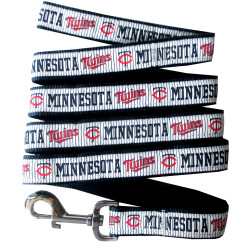 Minnesota Twins MLB nylon dog leash