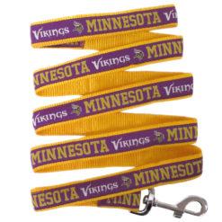 Minnesota Vikings NFL Nylon Dog Leash