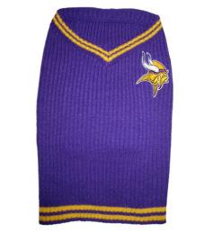 Minnesota Vikings turtleneck dog sweater