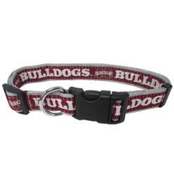 Mississippi State Bulldogs NCAA Nylon Dog Collar