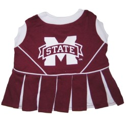 Mississippi State Bulldogs NCAA dog cheerleader dog dress