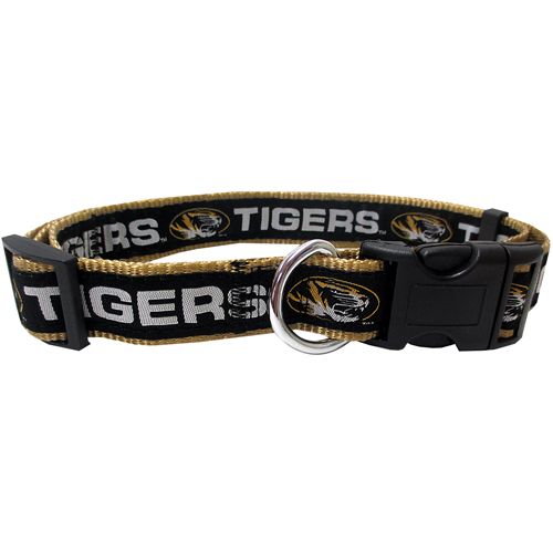 Missouri Tigers NCAA Nylon Dog Collar