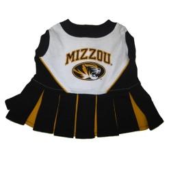 Missouri Tigers NCAA dog cheerleader dress