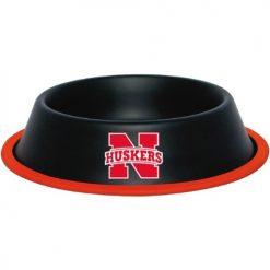 Nebraska Cornhuskers Stainless Dog Bowl